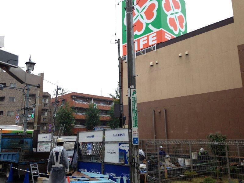 (仮称)新桜台篠邸外観写真