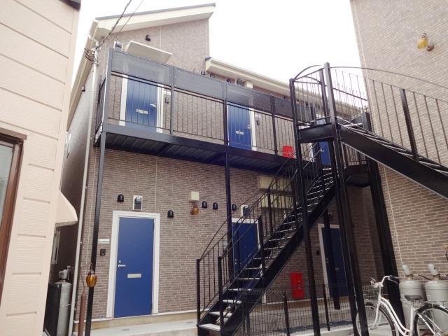 ハーミットクラブハウス大口ⅡA棟外観写真