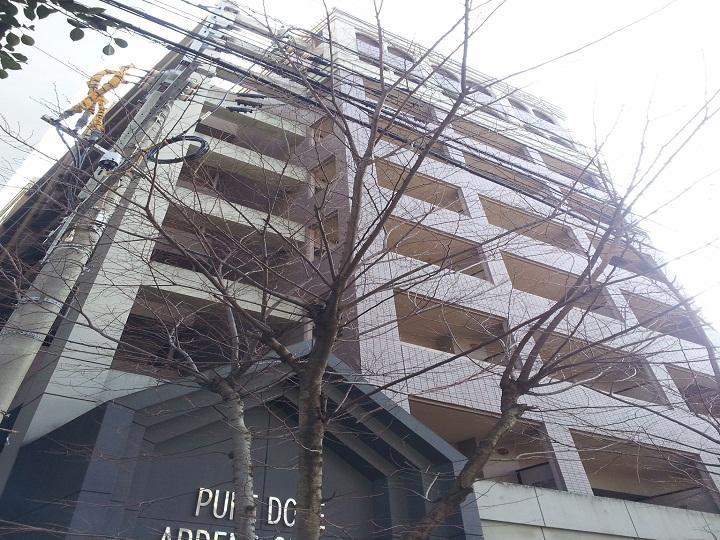 ピュアドームアーデンス大濠外観写真