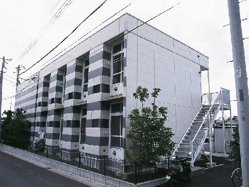 レオパレスプチベルク弐番館外観写真