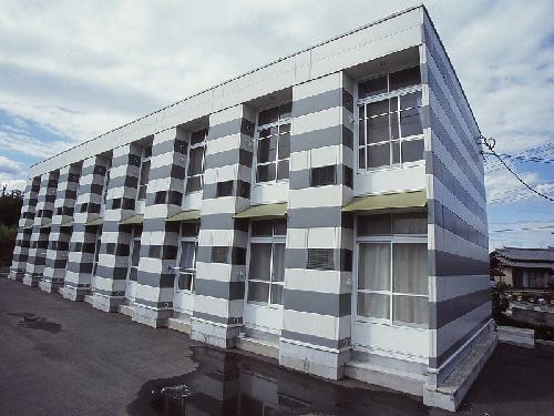 レオパレスマイルド棟高外観写真