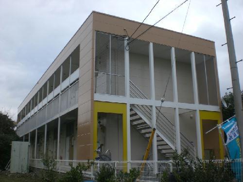 レオパレスクレール外観写真