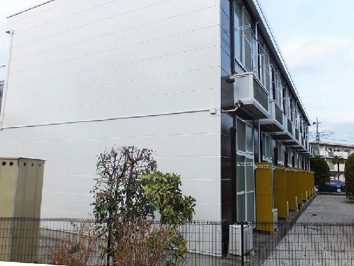 レオパレスメエガⅡ外観写真