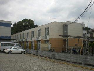 レオパレスハナブサ外観写真