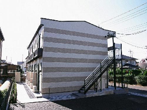 レオパレスサンガーデン高幡外観写真