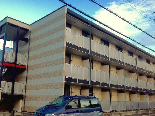 レオパレスアルモニ2番館外観写真