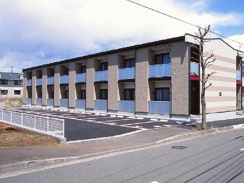 レオパレスラフィネ外観写真