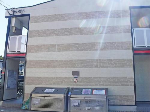 レオパレスサンハイムⅡ外観写真