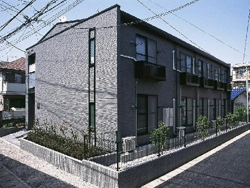 レオパレスシャルマン中野島外観写真