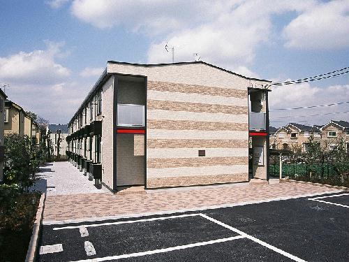 レオパレスプラシード竹丘外観写真