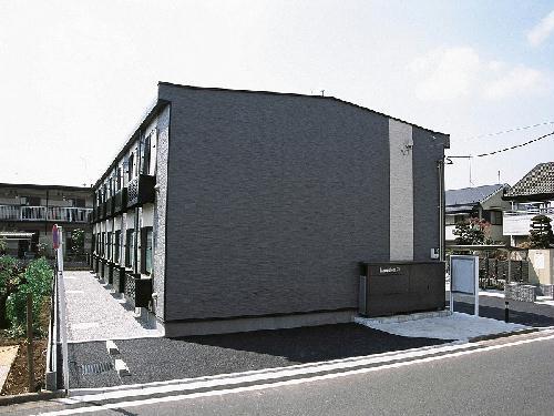 レオパレスプラシード竹丘Ⅱ外観写真