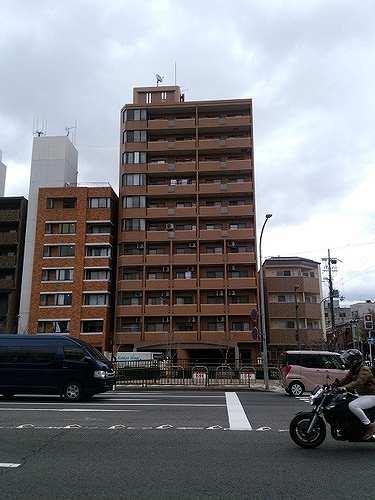 ライオンズマンション京都東堀川外観写真