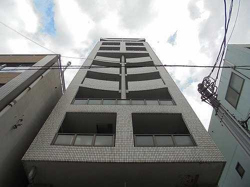 ライオンズマンション大博通り外観写真