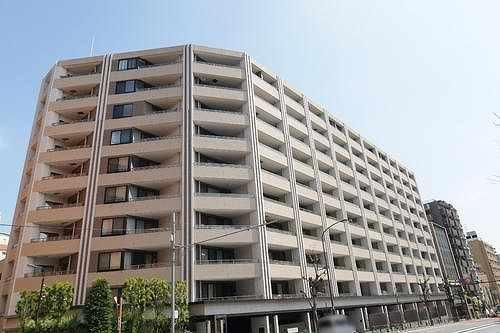 マジェスティハウス新宿御苑パーク外観写真