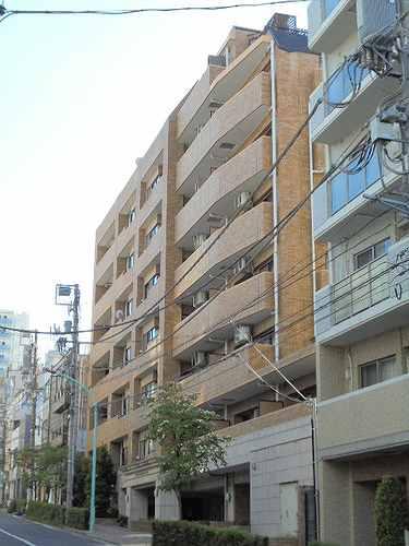 ライオンズマンション広尾南外観写真