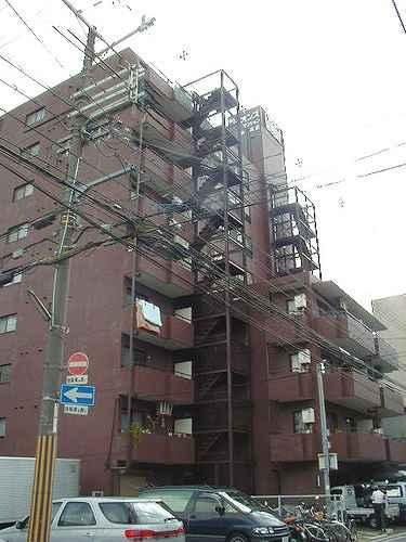 ライオンズマンション二条高倉外観写真