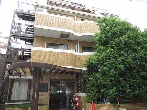 ライオンズマンション豪徳寺第3外観写真