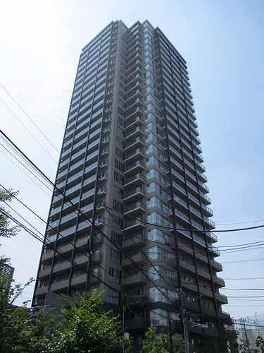 王子飛鳥山ザ・ファーストタワー&レジデンスタワー棟外観写真