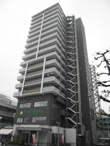 ライオンズ大垣駅前ローレルタワー外観写真