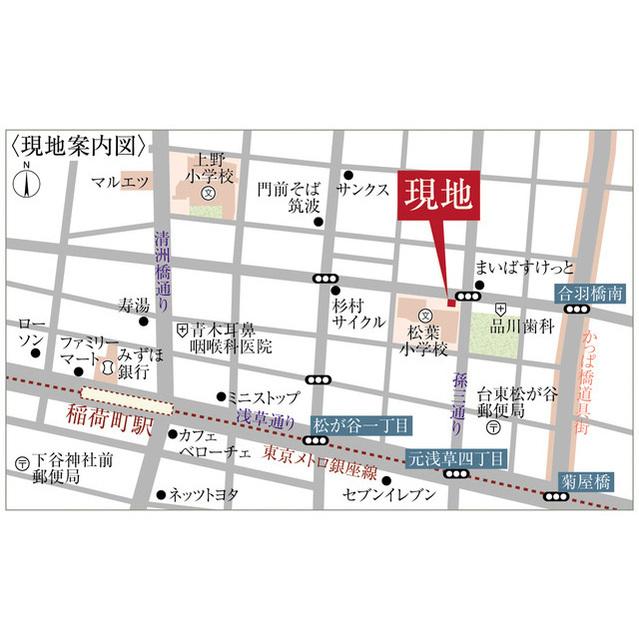ププレ上野松が谷外観写真