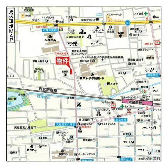 武蔵関マンション6号棟外観写真