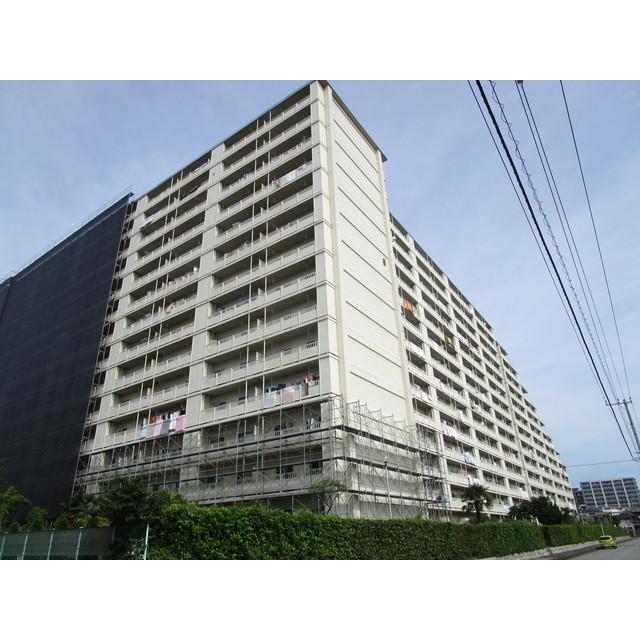 東建検見川マンションB棟外観写真