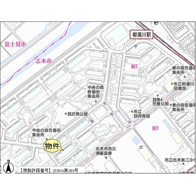 志木ニュータウン中央の森壱番街 六号棟外観写真