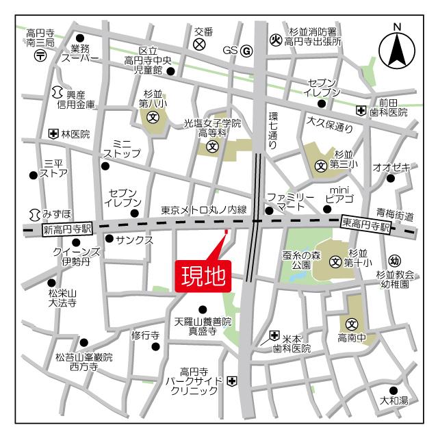 パルムアベニュー新高円寺外観写真