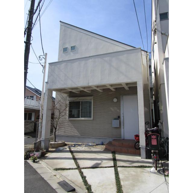 柿の木坂1丁目貸家外観写真