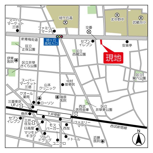 (仮称)鷺宮6丁目マンション計画外観写真