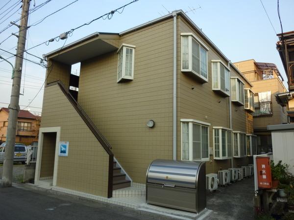 タウンコート西川口外観写真