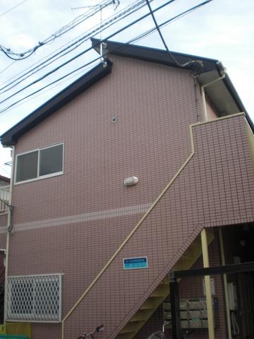 パール中野島B棟外観写真