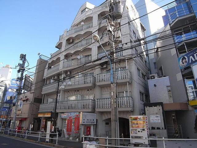 シルバーマンション早稲田外観写真