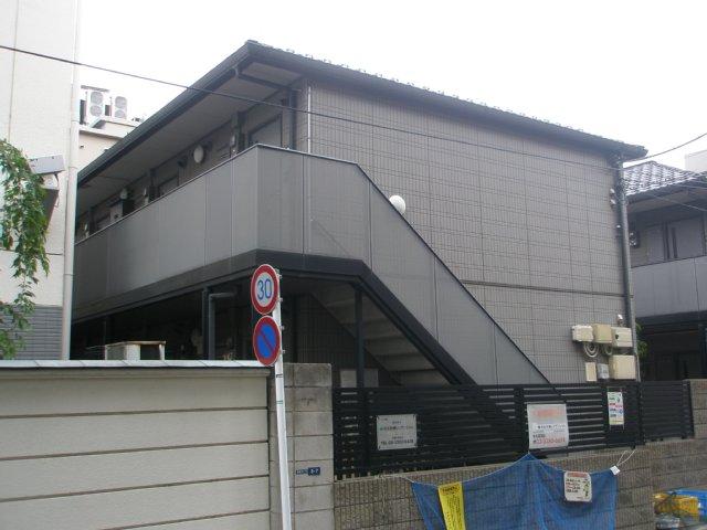 パークサイド21B棟外観写真