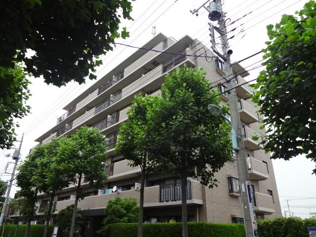 篠崎公園パインマンション外観写真