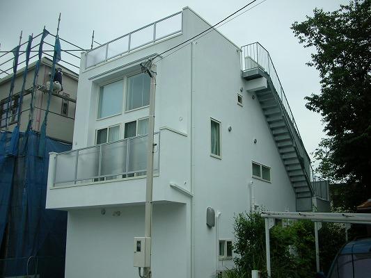 上野毛戸建外観写真