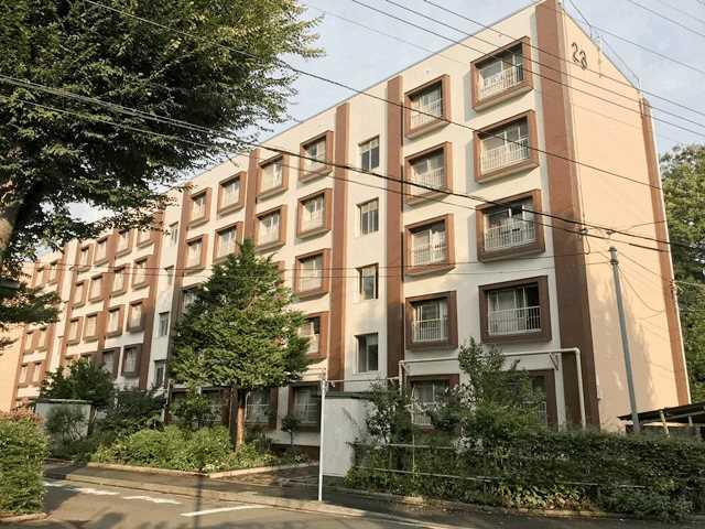 公社久米川駅東住宅23号棟外観写真