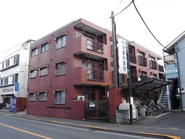 タカギ津田塾マンション外観写真