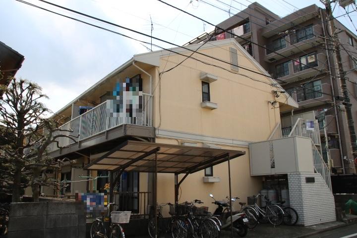 前川コーポ外観写真