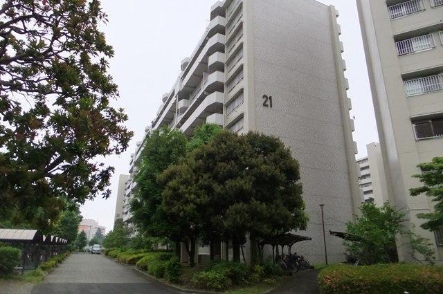 昭島つつじが丘ハイツ21号棟外観写真