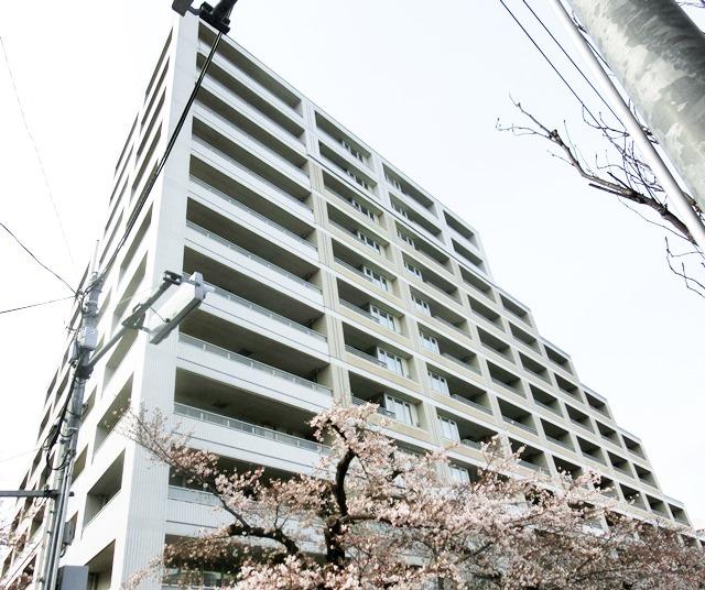 The目黒桜レジデンス外観写真