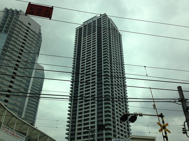 パークタワー新川崎外観写真