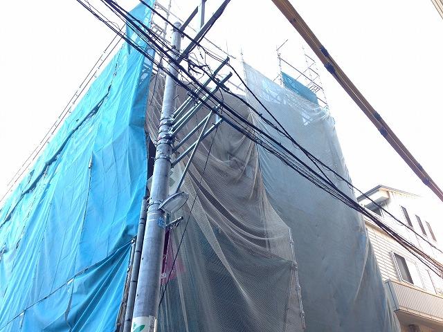 (仮称)西尾久共同住宅新築計画外観写真