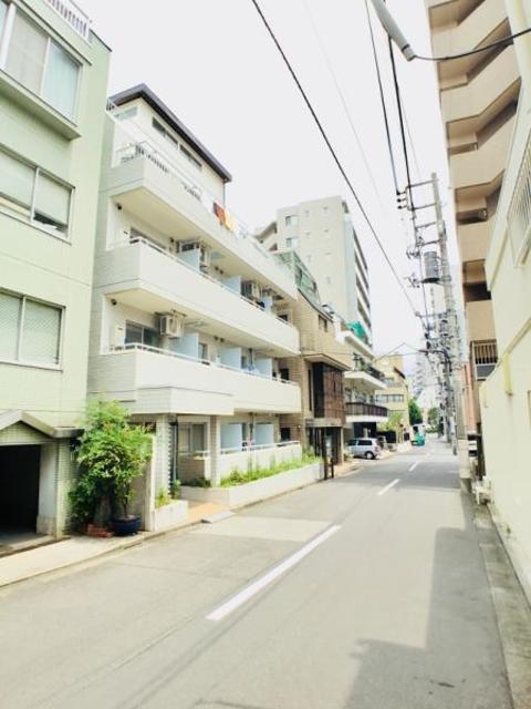 ニューハイム早稲田外観写真