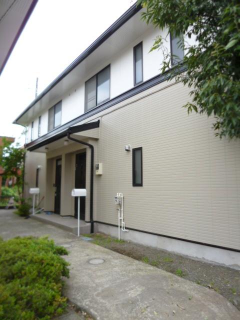ガーデンハウスA棟外観写真