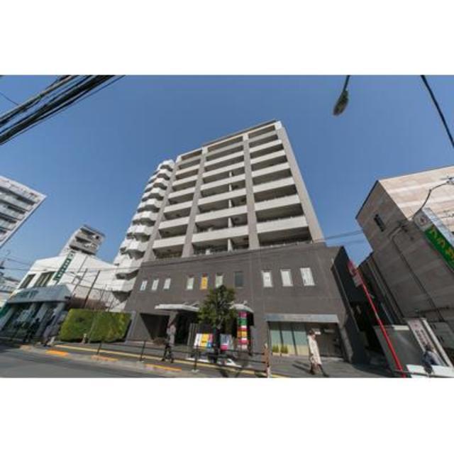 パークホームズ新宿若松町外観写真