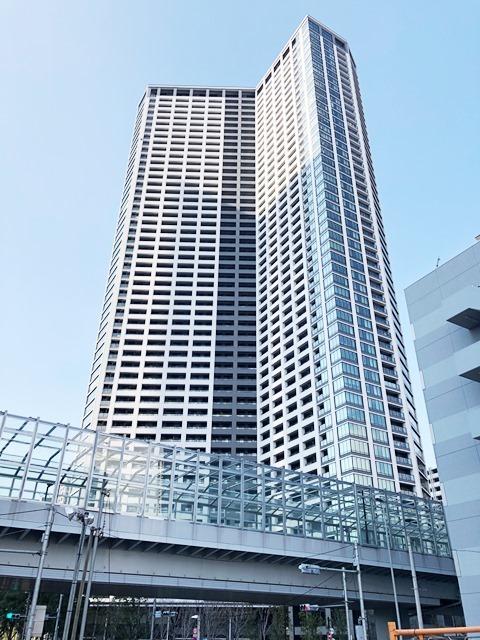 勝どきザ・タワー外観写真