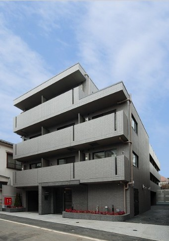 ルーブル大崎弐番館外観写真