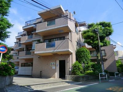 西早稲田クレセントマンション外観写真