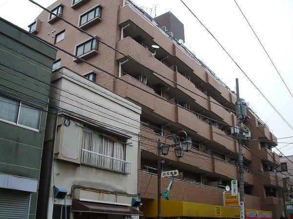 ライオンズマンションお花茶屋駅通り外観写真
